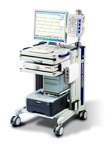 Neuropack X1, 12 Kanäle, mit Gerätewagen
