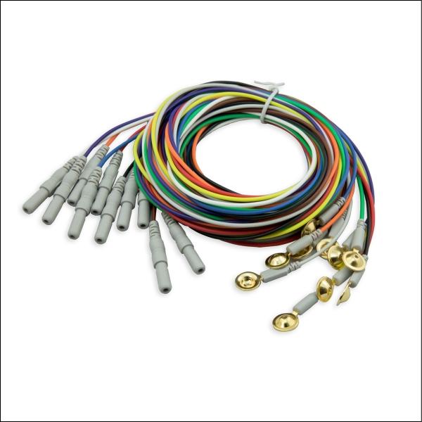 Goldnapf Elektroden CNSAC, 150 cm