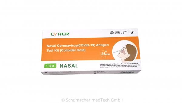 Lyher Antigen Rapid Test VPE 1 Stück