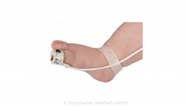 NONIN SP02 Flex Sensor, Kind 2-20 kg, 1m (wiederverwendbar)