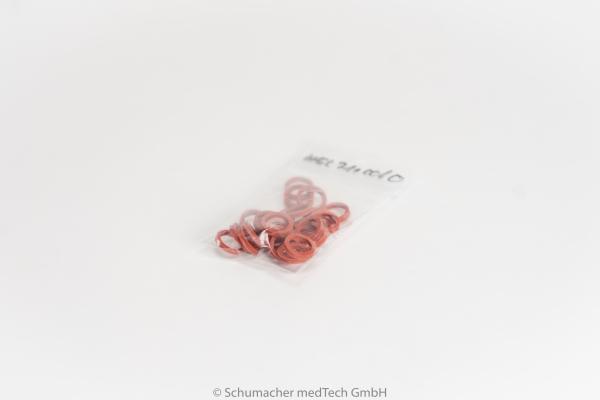Gummiringe Hellige -rot- | HEL711006O