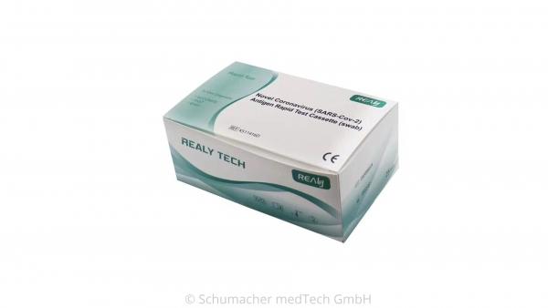 Realy Novel Covid-19 Antigen Rapid Test VPE (VERPACKUNGSEINHEIT) 25 Stück