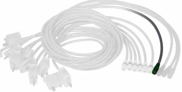 Elektrodenleitung für KISS F li. Fuß GRUEN | HEL721126