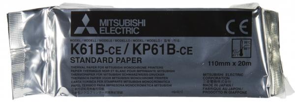 Videoprinterpapier/Mitsubishi K 61 B (Lg03) | GRU836004