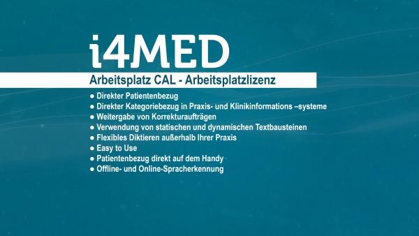 i4MED Arbeitsplatz CAL
