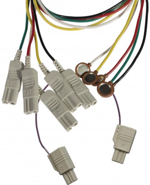 Oberflächen- und EP Elektrodensatz, abgeschirmte Kabel NKD711059