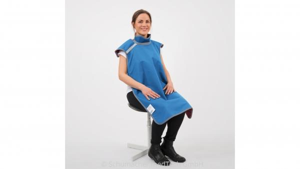 Patienten-Röntgenschürze RD644 mit Schilddrüsenschutz, für Aufnahmen im Sitzen